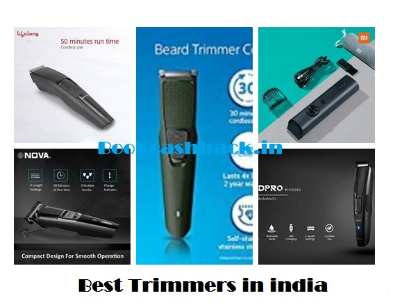 Best 5 Trimmers Under 1000 in india